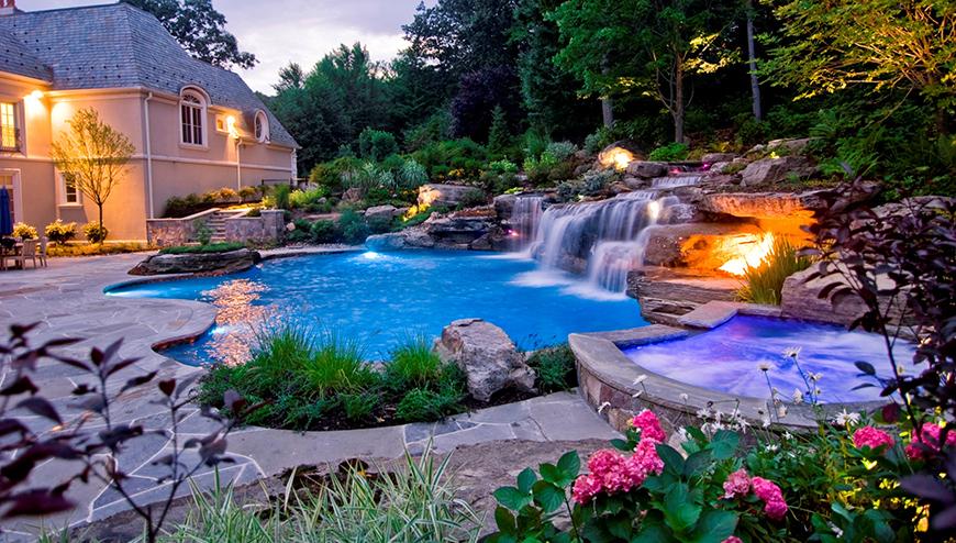 pools spas